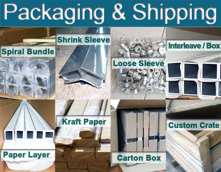 Aluminum Profile Packaging